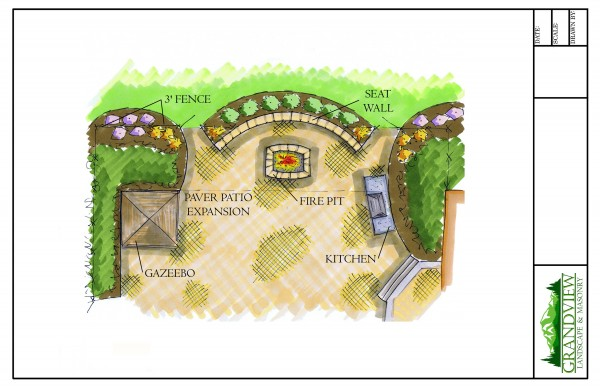 Image of Landscape Design Sample Drawing